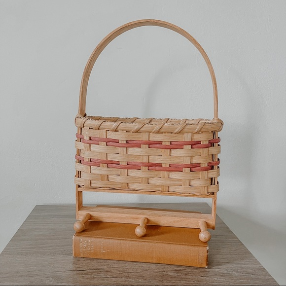 Woven Basket with Knobs